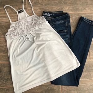 Other - Ruffle tank top